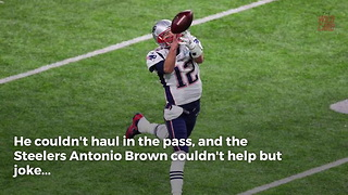 Antonio Brown Invites Tom Brady To Train With Him After Huge Drop In Super Bowl - Video