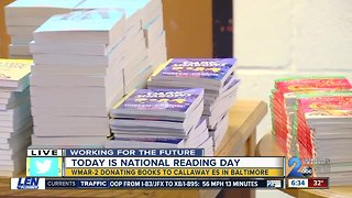 Baltimore City students will receive books on Nat'l Reading Day