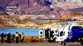 7 people injured in crash near Lake Mead on Saturday