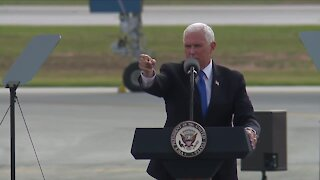 Vice President Pence appears at 'Make America Great Again' rally near Toledo