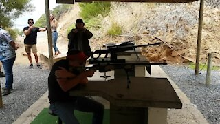 SOUTH AFRICA - Cape Town - Western Cape Firearms Festival (video) (BP6)