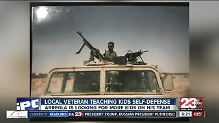 Local veteran teaches kids self-defense in jiu jitsu - Video