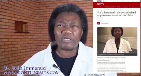 Dr. Stella Immanuel Demands an Apology after Studies Prove She was Right on HCQ