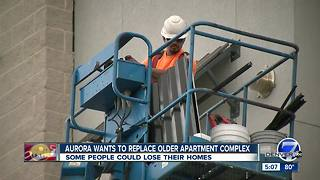 Aurora wants to replace older apartment complex