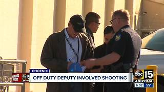 Off Duty Deputy involved in Phoenix shooting - Video