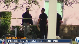 Police investigating shooting - Video