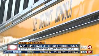 App Helps Track Lee County School Buses - Video