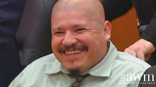 Illegal Immigrant Cop Killer Laughs At Judge, Vows To Do It Again. Give Him The Death Penalty - Video