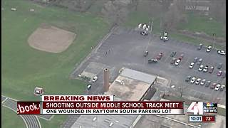 One person shot at Raytown South Middle School - Video