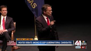 GOP candidates for KS governor square off - Video