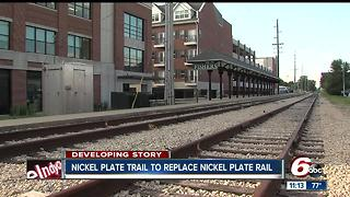 Nickel Plate Trail to replace Nickel Plate Rail - Video