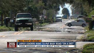 Neighbors: 'Reckless and wild' drivers making Largo Road into drag strip - Video