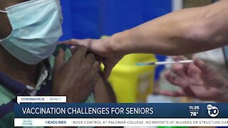 Vaccine challenges for seniors