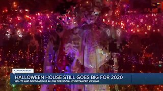 Halloween house still goes big for 2020