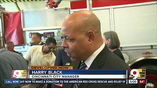 City Manager Harry Black misused funds, retaliated against Cincinnati police captain, suit alleges - Video