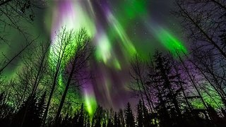 Brave Photographer Took This Mesmerizing Footage Of Aurora Borealis Storms In Alaska - Video
