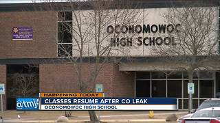 Oconomowoc High School to reopen Monday following carbon monoxide scare - Video