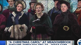 A Christmas Carol at Meadow Brook Theatre - Video