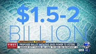 Ballot initiative asks about using public funds on Winter Olympics bid - Video