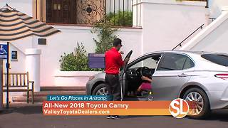 Valley Toyota Dealers: Rolling in style in the 2018 Toyota Camry - Video