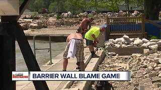 Broken barrier wall leads to ongoing flooding problems in Monroe County - Video