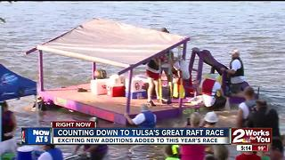 Tulsa's Great Raft Race returns - Video