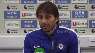 """Conte calls for end to """"bulls*** negativity"""" and insists Chelsea will fight until the end to retain title - Video"""