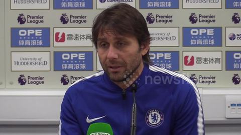 """Conte calls for end to """"bulls*** negativity"""" and insists Chelsea will fight until the end to retain title"""