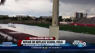 TUSD Board to tackle Tucson High football field - Video