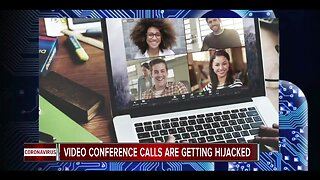 Video conference calls are getting hijacked