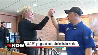 WOW program puts students to work - Video