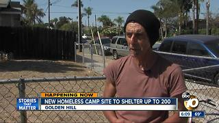 New Homeless Camp Site to Shelter up to 200