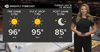 2021 Knightly forecast: May 18 playoff game forecast