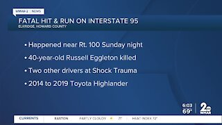 Fatal hit & run on Interstate 95