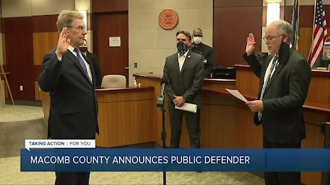 Macomb County announces public defender