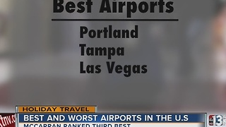 McCarrain International Airport named 3rd best - Video