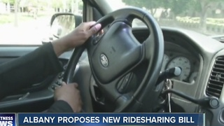 Albany proposes new ridesharing bill - Video