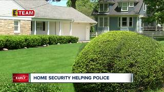 Home security helping police catch suspects of violent crimes - Video
