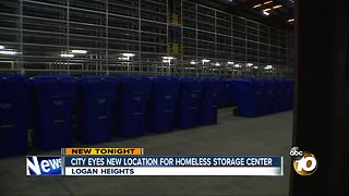 City eyes new homeless storage location in City Heights