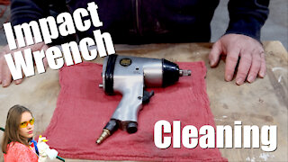 How to Clean Impact Wrench - Air Tool Maintenance