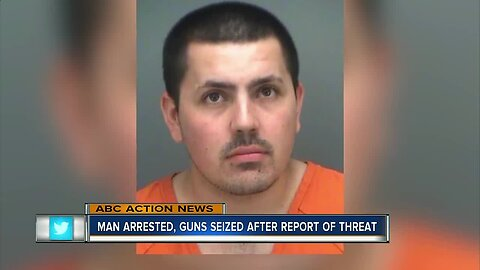 Man surrenders AR-15 after threat of mass shooting at St. Pete Steak 'n Shake: Records