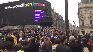 London's Catalans protest against Madrid crackdown - Video