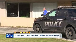 4-year-old girl pronounced dead after being found with burn marks - Video