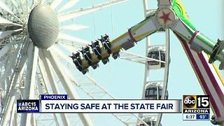 Keeping those attending the Arizona State Fair safe - Video