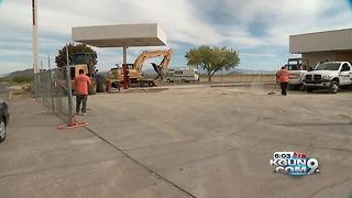Two months since only Sunsites gas station closed - Video