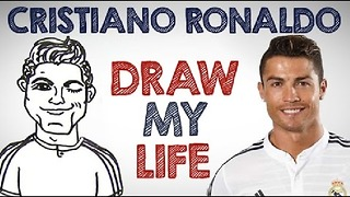 DRAW MY LIFE with Cristiano Ronaldo! - Video