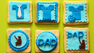 How to make Father's Day fondant cake toppers - Video