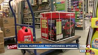 Southwest Floridians brace for Hurricane Irma, stock up on supplies - Video