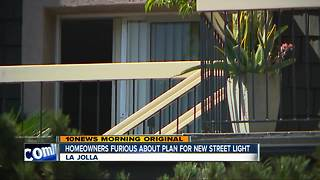 Homeowners furious about streetlight plan