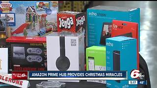 Amazon Prime Now Hub offers solution for last-minute holiday shoppers - Video